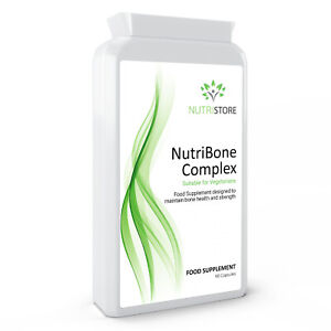 NutriBone Complex Bone Health and Strength Supplement 90 Capsules