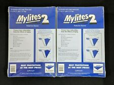 "100 E. Gerber Mylites 2 Mil Mylar Golden Age Comic Book Bags 800M2 8"" X 10 1/2"""