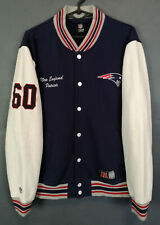 VINTAGE MEN'S NEW ENGLAND PATRIOTS NFL FOOTBALL BOMBER SWEATSHIRT SHIRT SIZE M