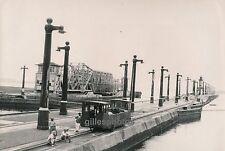 PANAMA c. 1940 - Train Remorqueur Canal Ecluse Toueur - DIV 3006