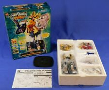 POWER RANGERS WILD FORCE DELUXE MEGAZORD COMPLETE WITH BOX BANDAI