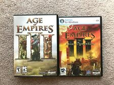 Age of Empires III 3 + Expansion: Asian Dynasties PC Complete