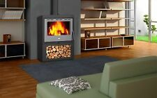 WoodBurning Stove Multi Fuel Log Burner Fireplace New Panorama 13 kw