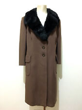HAPPENING VINTAGE '70 Cappotto Donna Lana Woman Wool Coat Sz.XXL - 50