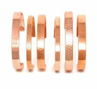 Copper Magnetic Bracelet - Arthritis Therapy Healing Relief Bangle - Men Ladies
