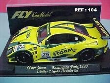 FLY LISTER STORM SILVERSTONE DONINGTON PARK 1999 J.BAILEY-B.NEEDELL  REF. A104