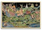 """""""The Land of Make Believe"""" 1930 Vintage Style Fairy Tale Map Poster - 16x24"""