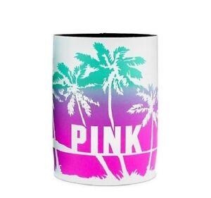1 Victoria's Secret PINK Water Cup Koozie PURPLE & BLUE Water Bottle Holder