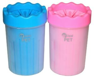 Dog Paw Cleaner Washer Cup   Clean your Dogs Muddy Paws after Walks (Medium)