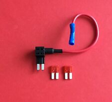 1 x Add a Circuit Fuse Tap Piggy Back Micro 2 Blade Fuse Holder 2x10amp Fuses