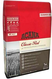 Acana Classic Red.Pienso de Cordero Para Perro Adulto,Alto en proteinas, omega 3