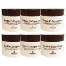 50ml x 6 Collagen Cream Wrinkle Care moisturize elastic anti-ageing Skin House