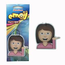 Emoji Emotions SASSY GIRL Car Home Air Freshener Freshner Scent - Cherry OMG