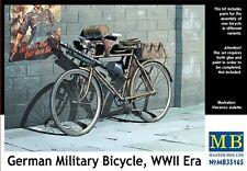Masterbox escala 1/35 - Bicicleta militar alemán, época Segunda Guerra Mundial