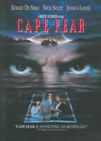 CAPE FEAR NEW DVD