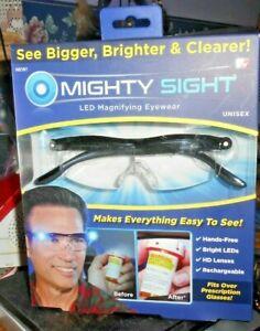 Mighty Sight LED Magnifying Eyewear Unisex AS Seen on Tv model 19002