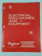 1971 Hoffman Electrical Enclosures & Equipment Bulletins Catalog Epoxy Coated +