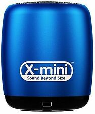 X-mini Blue Click Ultra Portable Wireless Bluetooth Speaker With Microphone