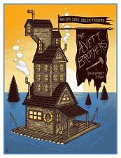 The Avett Brothers 11/10/15 Poster Davenport Iowa Signed & Numbered #/200