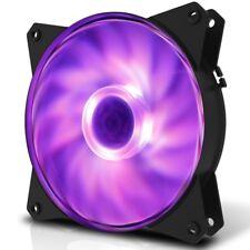 Cooler Master MasterFan MF121L RGB 120mm Case Fan, 32.5 CFM, 2 Years Warranty