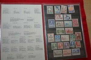 Dänemark Jahreszusammenstellung 1983 - postfrisch