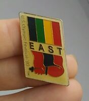 Vintage US Olympic Festival 1990 EAST pin button pinback *EE91