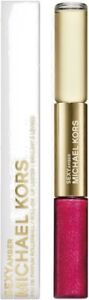 Michael Kors Collection Sexy Amber Rollerball &  Siren Lip Luster Duo New in Box