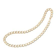 Heavy Duty Gold Chain Necklace Pimp Bling Mr T 80s Fancy Dress Accessory