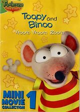 NEW   DVD // TREEHOUSE // TOOPY & and BINOO // Vroom // Mini Movie Collection 1