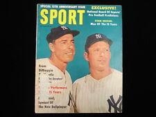 September 1961 Sport Magazine – Mickey Mantle & Joe DiMaggio Cover