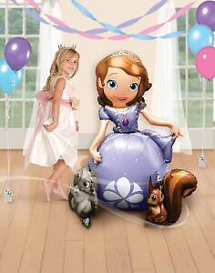 "Gaint Princess Sofia The First 3D Airwalker 54"" Jumbo Foil Balloon Party Supplie"