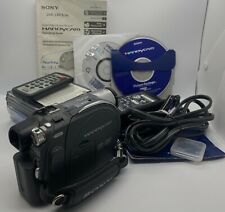 New ListingSony Dcr-Dvd305 Digital Video Camera Handycam Recorder D77