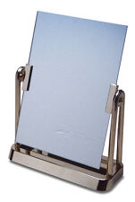 Cosmetic Make Up Table Stand Vanity Clear Frame Swivel Gold Mirror
