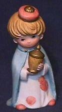 Homco Porcelain Wiseman Blue Robe from set 5609