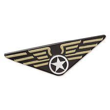 Aviator Pilot Wings Badge Flying Pilot Top Gun Air Force Fancy Dress Pin 80s