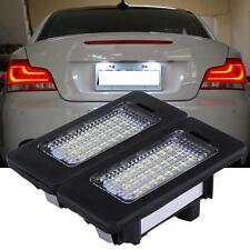 2 Error Free LED License Plate Light Lamp For BMW E82 E88 E90 E92 E39 E60 E61 M5