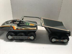 1979 Milton Bradley Big Trak & Transport Dump Unit Electronic Vehicle Non-Work