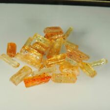 golden yellow Imperial topaz  crystal, facet rough lot, Ouro Preto, 157.6 ,cts #