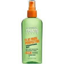 New Garnier Fructis Style Sleek Flat Iron Perfector Straightening Mist 6 Fl. Oz.