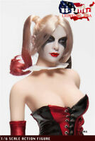 1/6 Suicide Squad Harley Quinn Female Joker Head Sculpt For PHICEN Figure ❶USA❶