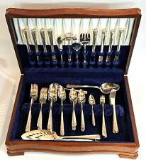 82 Pc. Svc For  8+ Oneida Community Silverplate Flatware 1940 MILADY $850+