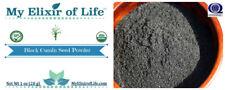 Organic Black Cumin Seed Powder Finely Ground Black Seed 1 oz Bag