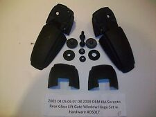2005 05 Kia Sorento Rear Liftgate Hatch Glass Window Hinge Set R & L OEM#DS017>