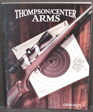 Thompson/Center Arms 1995 Pocket Catalog No.22. Contender Fire Scout Hawken