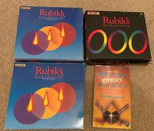 Vintage Rubik's Puzzles 1 X Magic and 2 X Rubik's Clocks By Matchbox