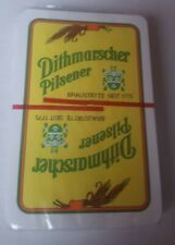 CARD GAME DITHMARSCHER PILSENER GERMAN BEER NEW ORIGINAL