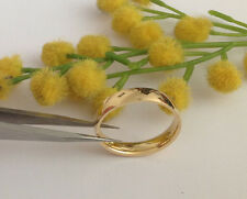 BELLISSIMA FEDINA IN ORO GIALLO 18KT - 18KT SOLID GOLD RING