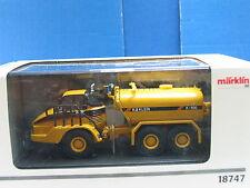Märklin H0 18747 CAT Knicklenker mit Wassertank OVP (y953)