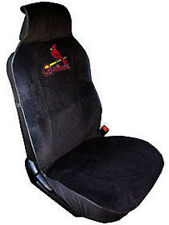 St. Louis Cardinals Embroidered Seat Cover  (New) Car Auto MLB Black Truck CDG
