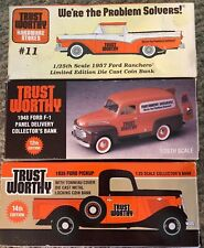 Trustworthy Hardware Stores 1935 Ford Truck, 1948 Ford F1, 1957 Ford Ranchero